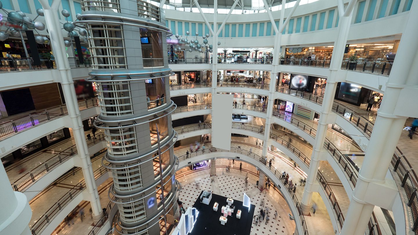 Huge Shopping Malls, Inspection | Spiral Inc